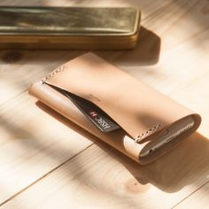 iPhone 6 nude leather sleeve