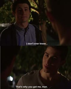 Jeff was such a good guy. Aw. 13 Reasons Why.