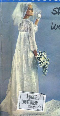 Vintage 1960s Vogue 1741 Couturier Belinda Bellville by RomasMaison