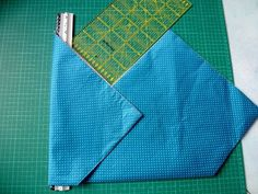 tuto de pliage pour coudre un sac origami