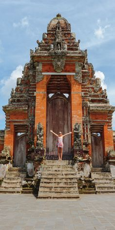 The landmark Taman Ayun Temple in the village of Mengwi, Bali which was built in 1634 - by Jewels Lynch