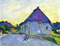 Max Pechstein (German, 1881-1955), Herbstabend (1927)