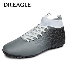 EAGLE Indoor Football boots 2018 sneakers turf cheap soccer shoes krasovki  football boot ankle sock cotton sock futsal cleats-in Soccer Shoes from  Sports ... 714c08e55a0