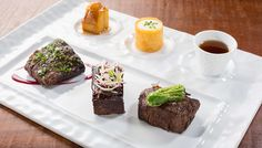 The Oahu restaurant's menu includes steak and seafood dishes with Japanese and…