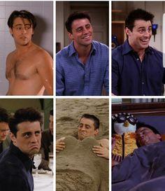 Joey Tribbiani the best caracter❤️ Serie Friends, Friends Moments, Friends Tv Show, Friends Forever, Best Tv Shows, Favorite Tv Shows, Jenifer Aniston, Matt Leblanc, Joey Tribbiani