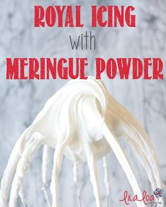 Simple recipe for creamy royal icing using meringue powder cup meringue powd. - Simple recipe for creamy royal icing using meringue powder cup meringue powder cup warm wat - Icing Recipe For Cake, Best Royal Icing Recipe, Royal Icing Cookies Recipe, Cake Icing, Frosting Recipes, Betty Crocker Royal Icing Recipe, Simple Icing Recipe, Homemade Frosting, Meringue Powder Royal Icing