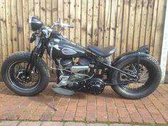 Harley Davidson WLA 1942 historic classic bobber For Sale