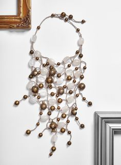 #loranikolova #bijoux&art #necklace #colors #art #madeinitaly #ethnochic #style Textiles, Bracelets, Necklaces, Charmed, Jewelry, Colors, Style, Fashion, Textile Jewelry