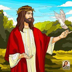 Jesus Is Risen, Jesus Christ, Cthulhu, Christ The King, Christian Wallpaper, What Is Christmas, Jesus Art, Bible Words, Jesus Loves You