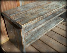42 Shoe Rack Bench by TheHenryHouse on Etsy, $165.00