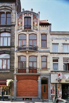 Saint-Gilles - Ensemble Blérot - Rue Vanderschrick 1, 3, 5, 7-9, 11, 13, 15, 17, 19, 21, 23, 25 - Avenue Jean Volders 42-46, 48 - Chaussée de Waterloo 13, 15 - BLÉROT Ernest