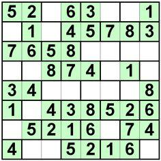 Number Logic Puzzles: 21027 - Bricks size 8