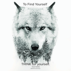 """To FIND yourself, THINK for yourself."" -Socrates  @365MindfulDays"