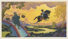 Mulan Viz Dev - Mulan and Horse
