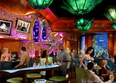 Mermaid Lounge in the Silverton Casino Las Vegas
