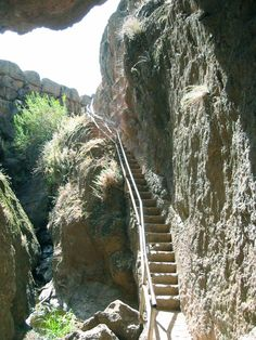 Pinnacles National Monument, California. This lovely park in the middle of the state is worth the long drive with some of the most interesting hiking I've seen. Condors, bats, cave trails, ledge trails, and the lonely pinnacle trail with catwalks and handrails and crude ladders carved into the volcanic rock to keep you from pitching off the side. Caves are sometimes closed to protect the bats, but bring a good flashlight. Camping is required, a nice private campground with a pool and wild…