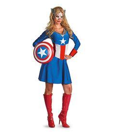 Look at this #zulilyfind! American Dream Costume Set - Women by Marvel #zulilyfinds