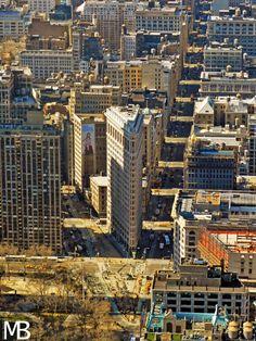 Scatti e Bagagli: 7 giorni a New York, la città che non dorme mai! Flatiron Building visto dall'Empire State Building