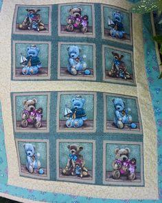Frühchendecke Bären Quilts, Blanket, Quilt Sets, Blankets, Log Cabin Quilts, Cover, Comforters, Quilting, Quilt