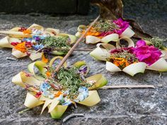 Offerings to the Gods and Goddesses Ubud Indonesia, Gods And Goddesses, Book Of Shadows, Bali, Witch, Blessed, Witches, Witch Makeup, Wicked