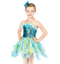 Under the Sea Child Camisole Dress - Style No TH1029C supper cute!!!!!!