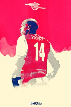 Henry Highbury Legend on Behance #soccer #poster