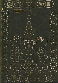 Embroidery Stencil Hearts (EF8031)