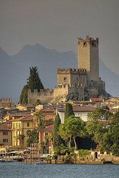 Scaligero Castle Malcesine, lake Garda, Italy
