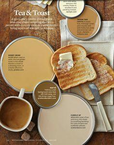 Tea and toast colors / bhg.com