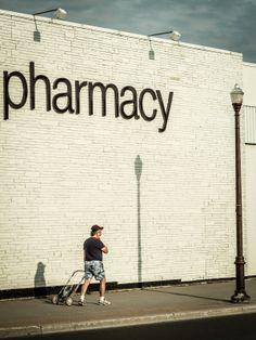 Pharmacy | signage + lettering