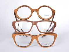 48000 - Kauri wood eyewear collection on Industrial Design Served