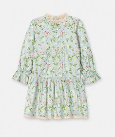 Floral print dress Dresses Girl Junior (8-12 years) | LANIDOR.COM - Mobile Shop Online
