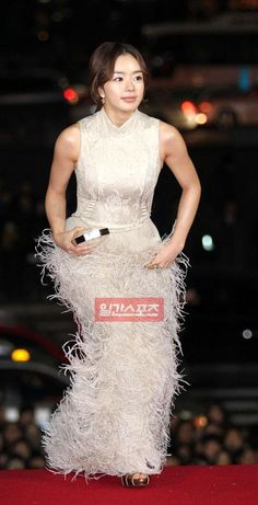 Seo Woo (서우) Long Gown Dress, Long Gowns, Seo, Kim Moon, Red Carpet, Korean, Happiness, Celebs, Formal Dresses