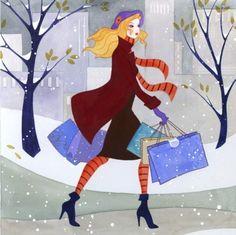 Сама себе хозяйка - Фешн иллюстраторы Jennifer Lilya, Katharine Asher и Kelly Smith