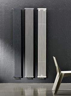Wall-mounted carbon steel decorative radiator TRIM Home Line by ANTRAX IT radiators