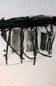 Antoni Tàpies (1923–2012) was een Spaans kunstenaar. In de moeilijke omstandigheden van Franco met zijn strenge censuur, richtte hij in 1948 samen met anderen het tijdschrift Dau al set op. In 1966 was hij een van de protagonisten van een studentenactie voor meer vrijheid en kwam daardoor op de lijst van voor het regime verdachte personen.Vanaf 1950 verbleef hij vaak in Parijs. Zijn schilderkunst stond voor hem in het teken van het bewustmaken.