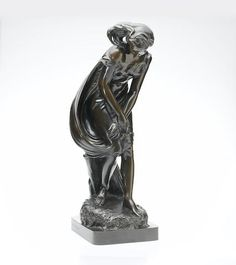 A Bronze Model of a Woman with Starfish. 9.5cm high, signed `H.Weekes A.R.A London' with `Elkington & Co' Foundry mark @ Bonhams AUCTION 14068: DESIGN 1860-1945  16 May 2006 LONDON, NEW BOND STREET