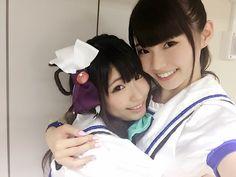 諏訪ななかofficial @suwananaka 今晩深夜25時25分〜 NHK「NAOMIの部屋」です✨ スタジオには2年生が!がんばってね 公開収録のときのななあいにゃ