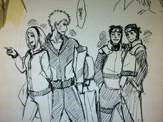 sketchs for the new upcoming and final movie, Naruto Movie The Last | Naruto Uzumaki x Sakura Haruno / NaruSaku *-*