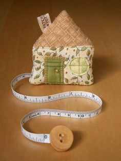 House Tape Measure 9 | PatchworkPottery | Flickr