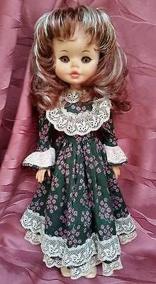 • ● ·✿ ✿ *Furga bambola DAMINA vintage ✿ANNI 70✿ capelli rosso mogano●·✿ ✿ * •