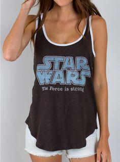 Junk Food Clothing - Star Wars Tank - New Arrivals - Womens
