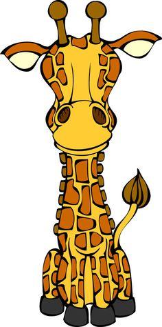 Giraffe as puzzle pieces Pink Giraffe, Giraffe Art, Cute Giraffe, Elephant, Kirin, Giraffe Pictures, Cute Funny Animals, Puzzle Pieces, Little Sisters