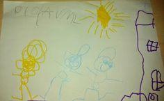 Alfabetização Desenhos Garatujas Primeiras Palavras Educação Domiciliar