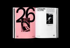 Karolina Wojtas - Editorial Design on Behance Graphic Design Books, Fashion Graphic Design, Graphic Design Illustration, Book Design, Print Design, Web Design, Book Projects, Sound Design, Interactive Design