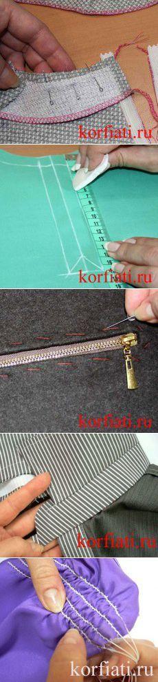 clases magistrales en A.Korfiati ESCUELA prendas de costura