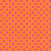 Candy Polka ©2012 Jill Bull fabric by fabricfarmer_by_jill_bull for sale on Spoonflower - custom fabric