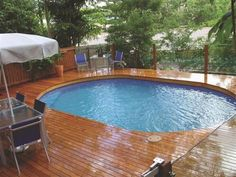 You might have found yourself here while looking for ideas for landscaping around above ground pool and you did find the right place for getting that inspiration you need. There are a lot of around the pool landscaping ideas among these too, so your new above ground pool wrap around deck will look as perfect as you have imagined. These ideas for landscaping around above ground pool surely will have you wanting one for yourself discarding the ideas of the plain old inground pool everyone has.