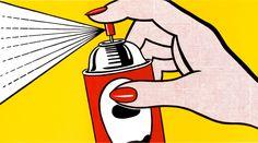 POP ART – ROY LITCHENSTEIN   megan graphics
