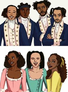 Hamilton + Ponytails<--THIS IS MY FAVORITE THING